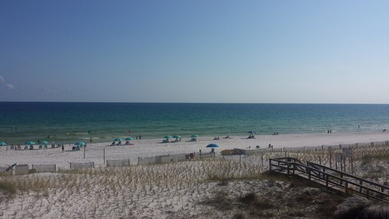 Best Western Ft. Walton Beachfront : View from hotel