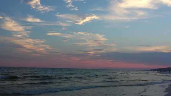 Best Western Ft. Walton Beachfront: sunset