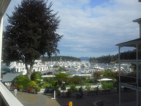 Roche Harbor Resort: View from our room