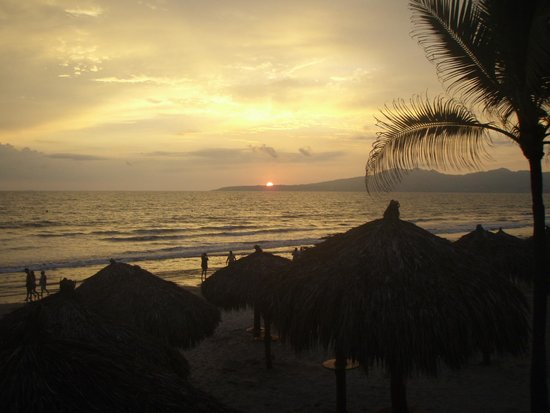 Marival Residences Luxury Resort: Sunset
