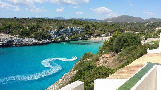 Blau Punta Reina Resort: Cala Romantica vista dalla stanza