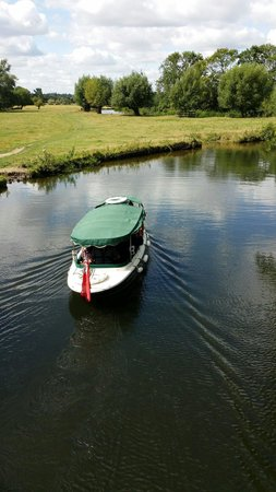 Flatford Mill: Lovely boat ride