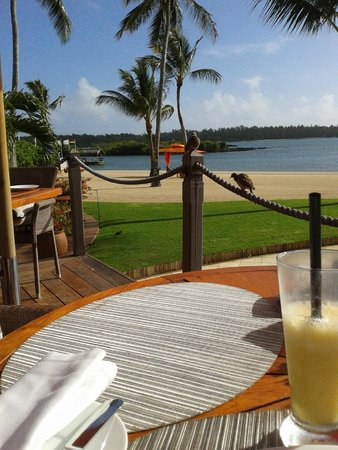 Constance Prince Maurice: Breakfast view