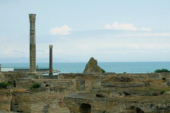 Carthaginian Ruins: Rovine di Cartagine: Tunisia: le terme