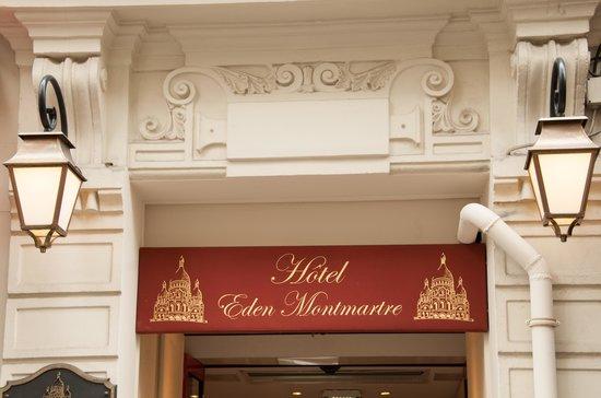 Eden Hotel Montmartre: exterior