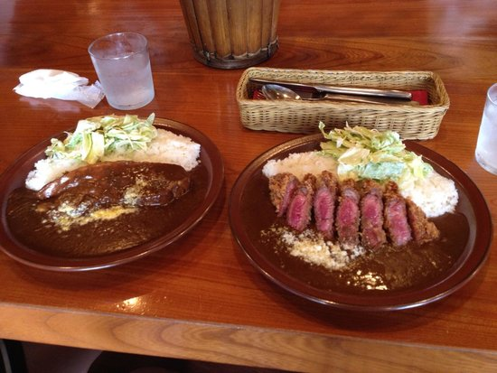Sangosho: ご飯の量の多さにびっくり。