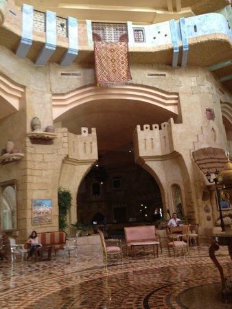 Lella Baya: Part of the Aladdin Style Lobby Area