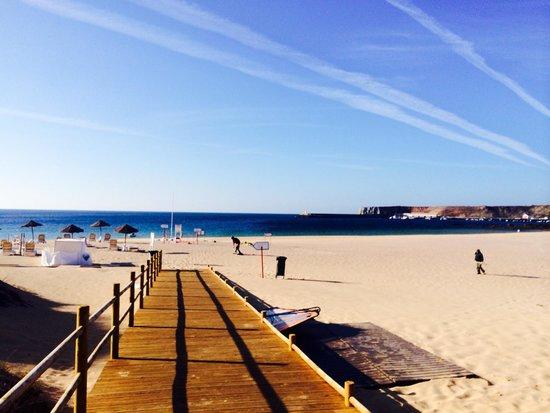 Martinhal Sagres Beach Resort & Hotel: View from the beach on site.