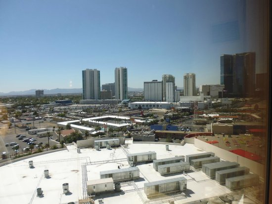 Stratosphere Hotel, Casino and Tower, BW Premier Collection: View from our room (ours was a strip view room)