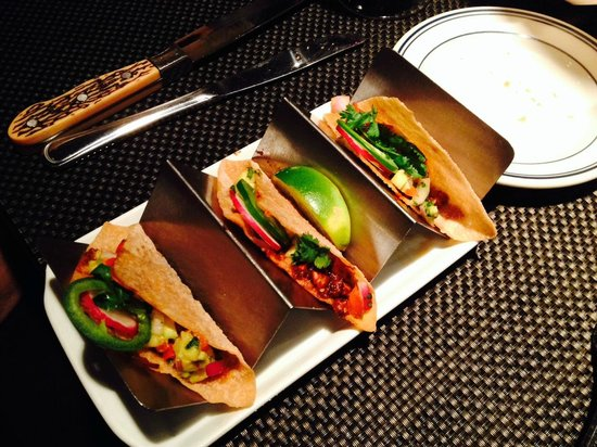 Pittsburgh Blue Steakhouse: Lobster Tacos