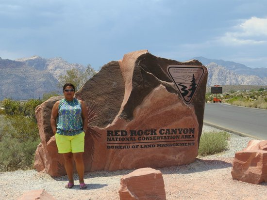 Red Rock Canyon National Conservation Area: Moi au red rock canyon