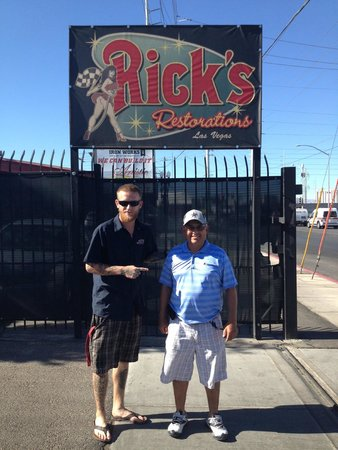 Rick's Restorations : Brettly with my cousin.