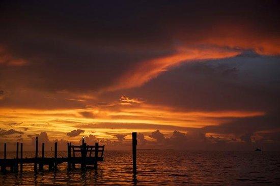 Atlantic Bay Resort: sunset second night and so on....