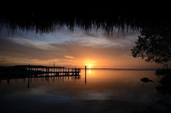 Atlantic Bay Resort: Sunset first night