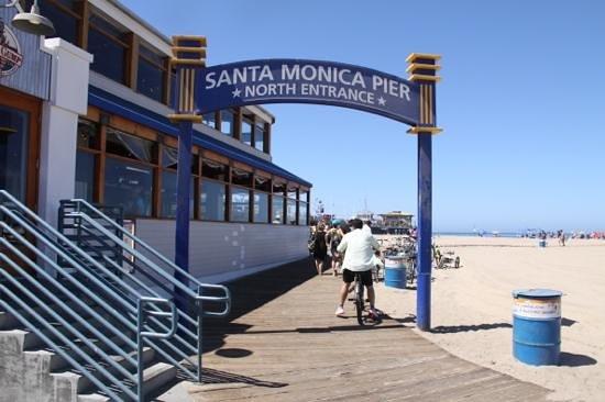Santa Monica Pier: De Pier