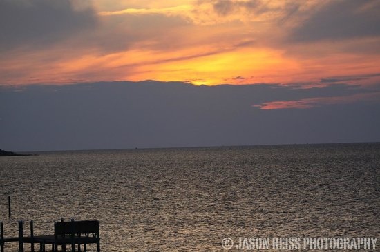 The Inn on Pamlico Sound: sunset over the sound #1