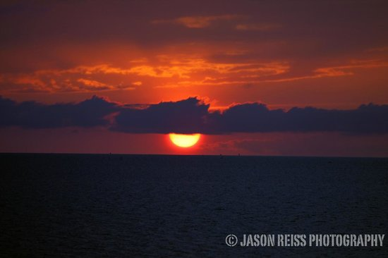 The Inn on Pamlico Sound: sunset over the sound #2