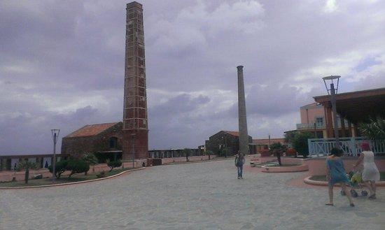 Villaggio Le Tonnare: La piazza principale