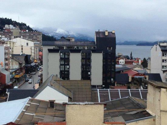 Grand Hotel Bariloche: Vista desde la habitacion 704