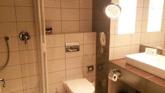 Friday Hotel Prague: Dusch/toa