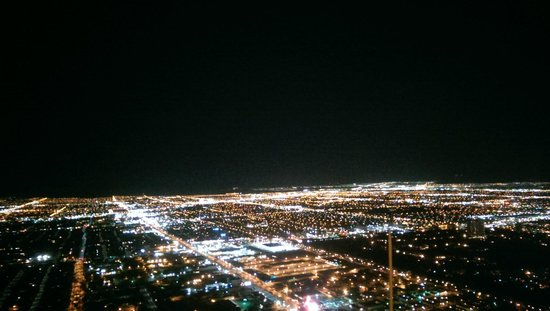 Stratosphere Hotel, Casino and Tower, BW Premier Collection: View from the observation deck