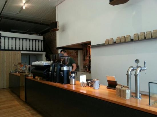 Photo of Cafe Timbertrain Coffee Roasters at 311 Cordova St W, Vancouver V6B 1E5, Canada