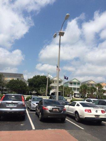 Holiday Inn Oceanfront at Surfside Beach : Flag side