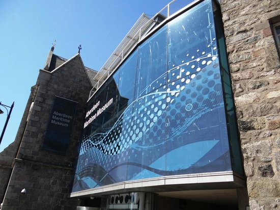 Aberdeen Maritime Museum: Main entrance to the museum