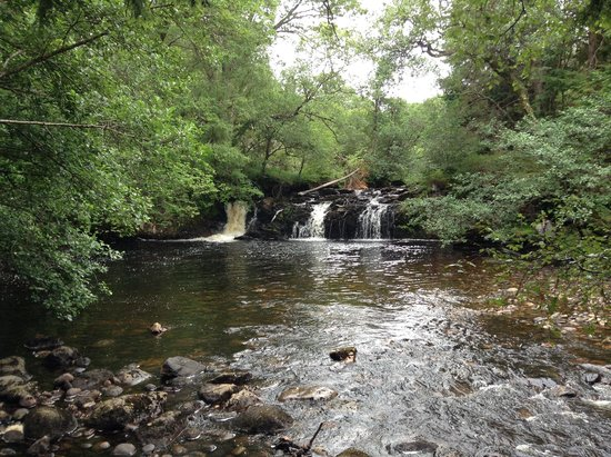 Highland Titles Nature Reserve: waterfall and swimming point
