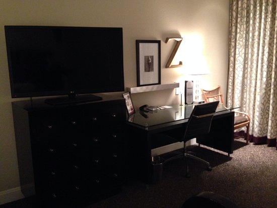 Hotel ZaZa Dallas: Work area