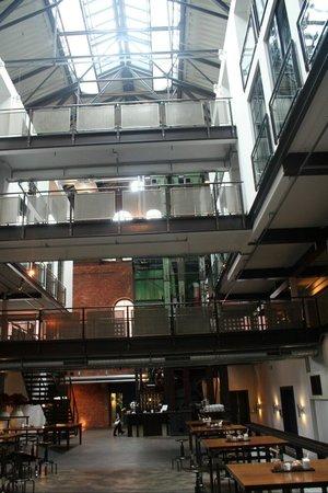 Gastwerk Hotel Hamburg: Hotelhalle