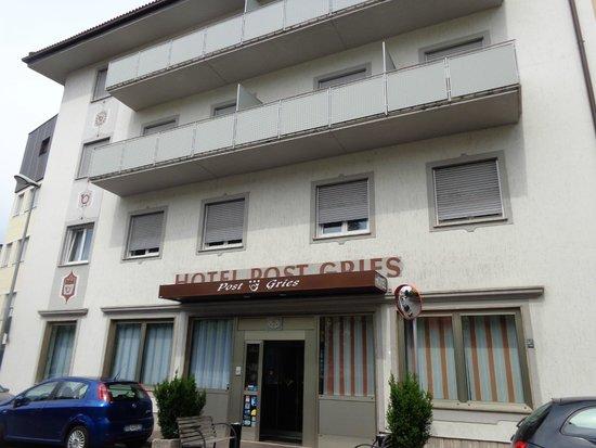 Hotel Post Gries : l'ingresso