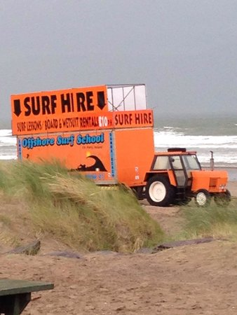 Inch Beach: Rent equipment & get in the water