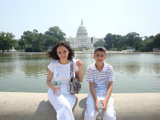 Capitol Hill : Около Капитолия
