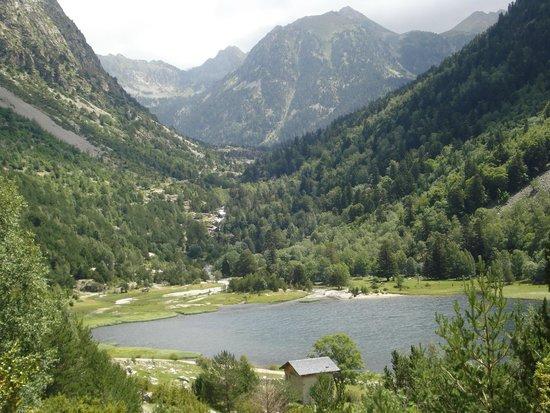 Parque Nacional de Aiguestortes: Paisaje d'estany de la LLebreta