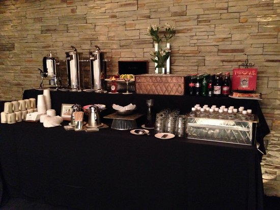 Hotel ZaZa Dallas: Coffee bar in meeting room