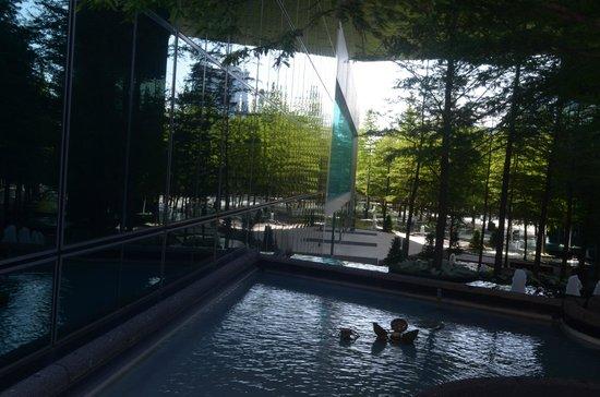 Fountain Place: fontane e riflessi