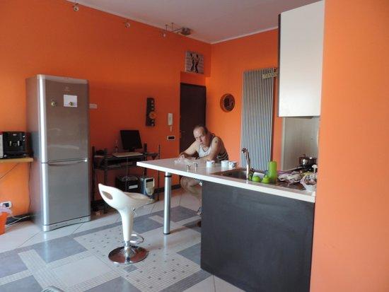 B&B Olympus: Teď je to jídelna, obývák, relaxační místnost, společenská místnost, kuchyně, kancelář