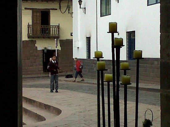 Casa Andina Classic Cusco Plaza: Vista desde el comedor