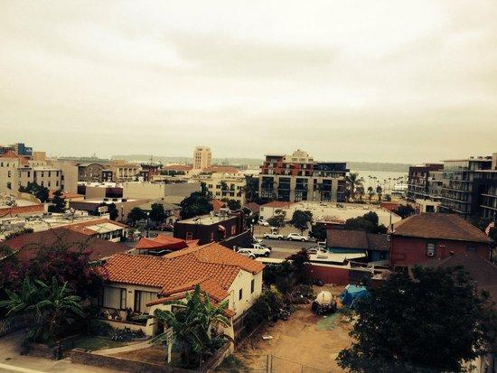 Porto Vista Hotel : View from restaurant