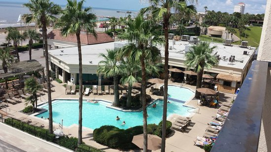 Holiday Inn Resort Galveston-On The Beach: View from rm 524