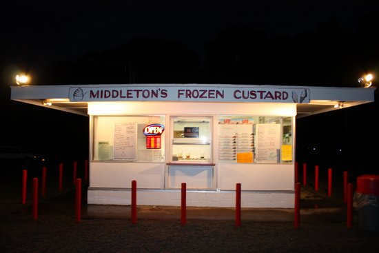 Middleton S Frozen Custard