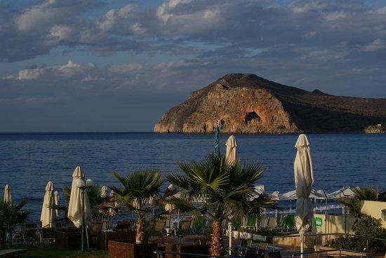 Thalassa Beach Resort: Dejlig udsigt fra værelser med havudsigt