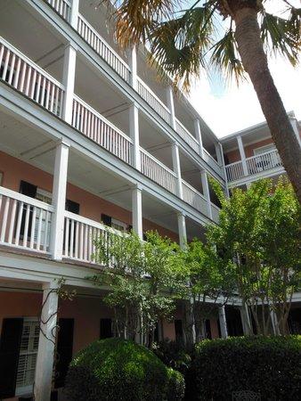 The Meeting Street Inn : Courtyard