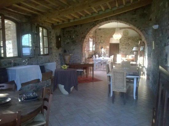 Agriturismo La Colombaia: Sala della colazione