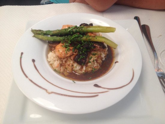 Bistrot du Grand Louis : risotto a la carte