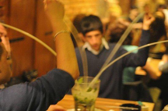 Restaurace Kozicka : Bucket mojito at the next table