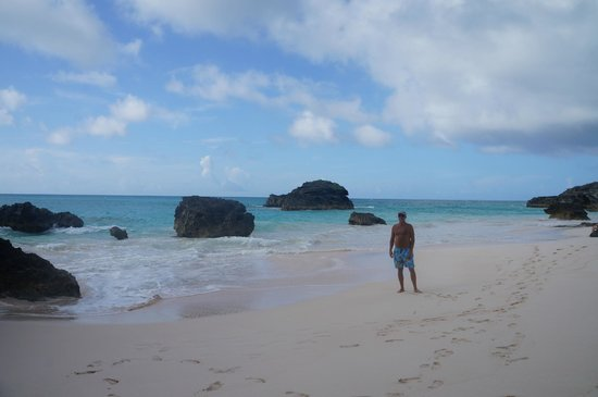 Horseshoe Bay Beach: Less crowded inlet to the left of main beach