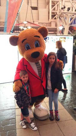 Butlins Minehead: Billy Bear
