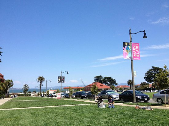 Walt Disney Family Museum : Outside of the museum